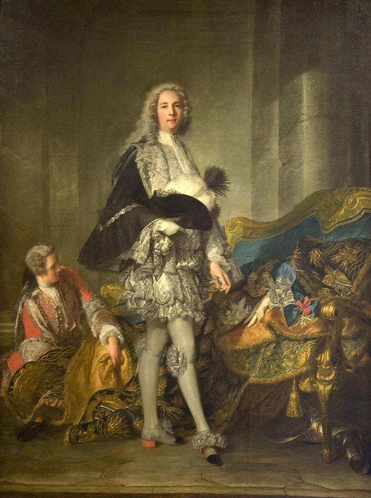 Portrait of the Duke of Richelieu | Jean Marc Nattier | oil painting