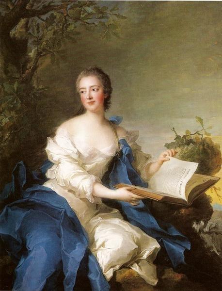 Princesse de Rohan | Jean Marc Nattier | oil painting
