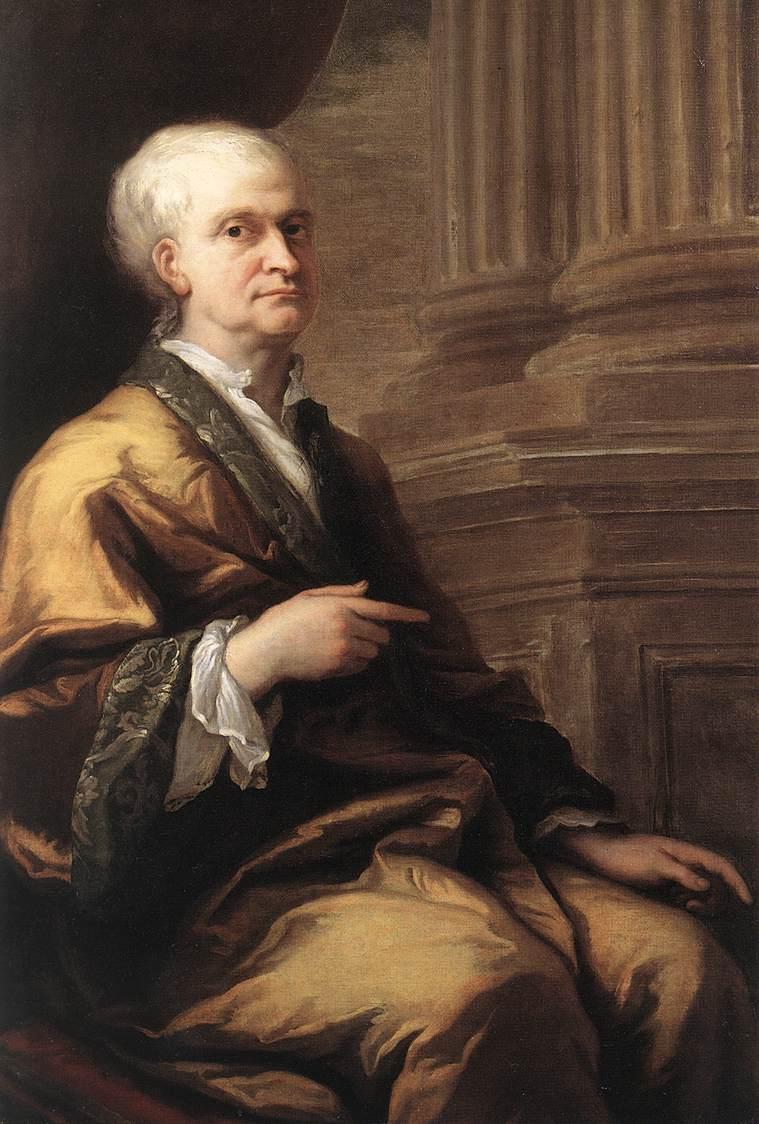 Sir Isaac Newton   Sir James Thornhill   oil painting