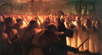 The 10th of Muharram   Fausto Zonaro   oil painting