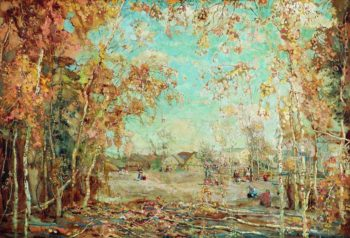 Autumn | Isaak Brodsky | oil painting