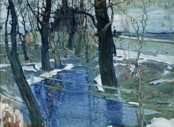 Early Spring | Isaak Brodsky | oil painting
