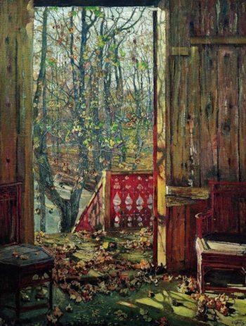 Fallen Leaves | Isaak Brodsky | oil painting