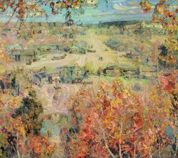 Golden Autumn | Isaak Brodsky | oil painting