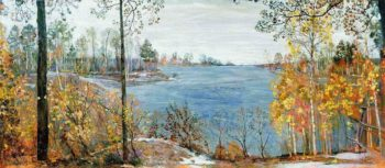 Late Autumn | Isaak Brodsky | oil painting