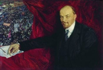 Lenin with a Manifesto | Isaak Brodsky | oil painting