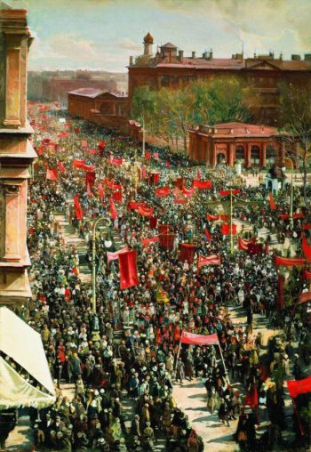 May 1 Rally | Isaak Brodsky | oil painting