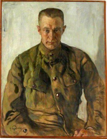 Portrait of ALexander Kerensky | Isaak Brodsky | oil painting
