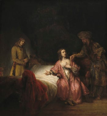 Joseph Accused by Potiphar's Wife
