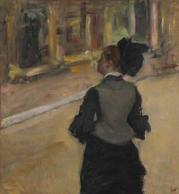 Woman Viewed from Behind