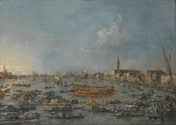 The Bucintoro Festival of Venice | Francesco Guardi | oil painting