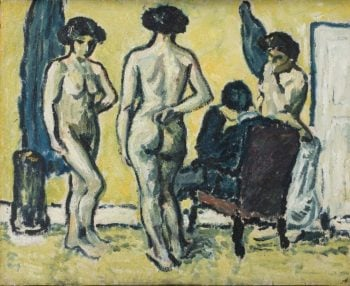 The Judgment of Paris | Harald Giersing | oil painting