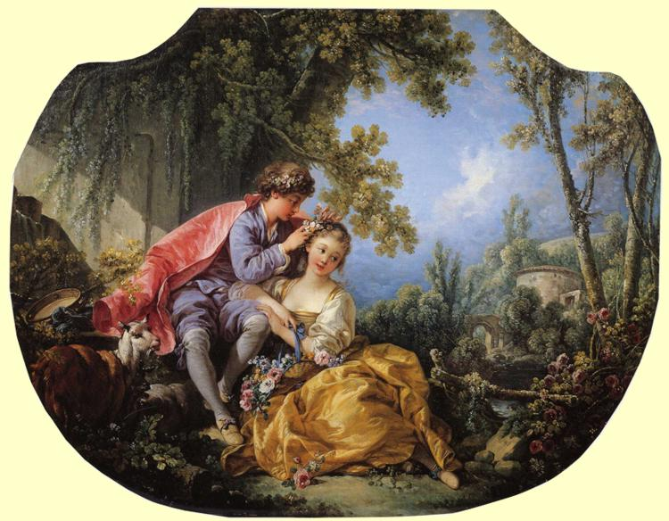 The Four Seasons Spring 1755 | Francois Boucher | oil painting