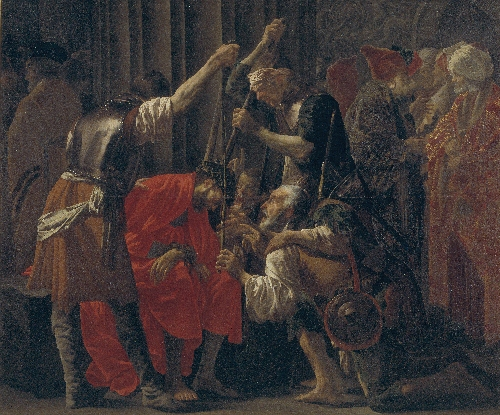 Christ Crowned with Thorns | Hendrick ter Brugghen | oil painting