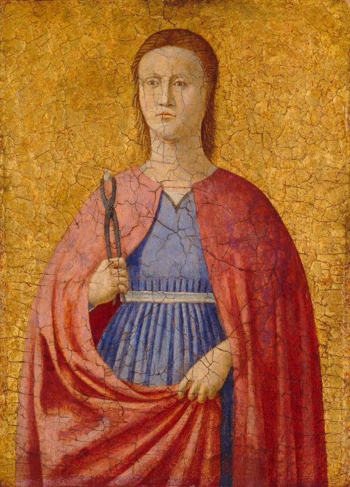 Apollonia | Piero Della Francesca | oil painting