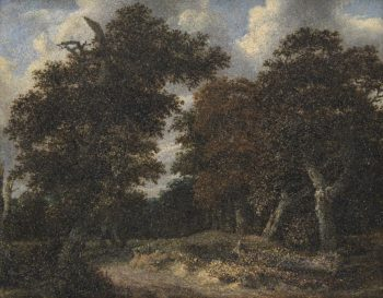 Road through an Oak Forest | Jacob Isaacksz van Ruisdael | oil painting