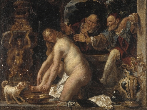 Susanna and the Elders | Jacob Jordaens | oil painting