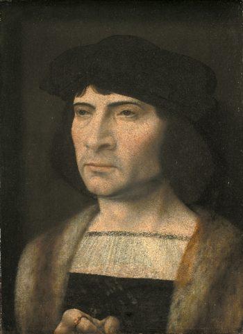 Portrait of a Man | Jan Gossaert | oil painting