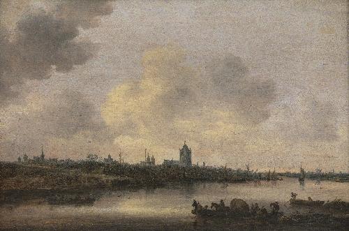 View of the City of Arnhem | Jan Josefsz van Goyen | oil painting