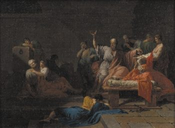 The Death of Socrates | Jean Francois Pierre Peyron | oil painting