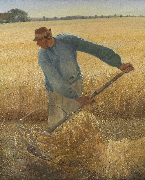 Harvest | LA Ring | oil painting