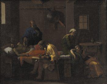 The Testament of Eudamidas | Nicolas Poussin | oil painting