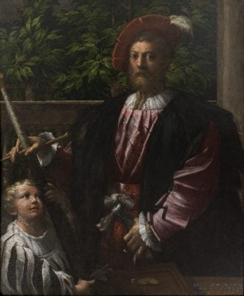 Portrait of Lorenzo Cybo | Parmigianino | oil painting