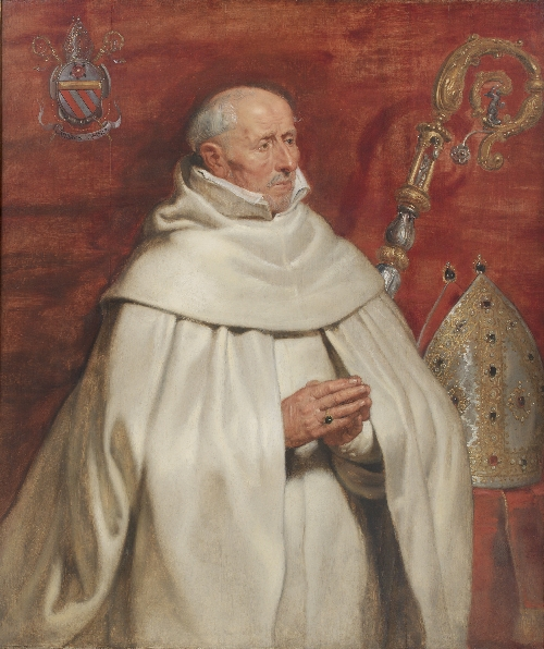 Matthaeus Yrsselius (1541 1629) Abbot of Sint Michiels Abbey in Antwerp | Peter Paul Rubens | oil painting