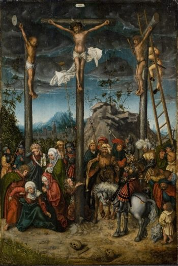 The Crucifixion   Unknown   oil painting