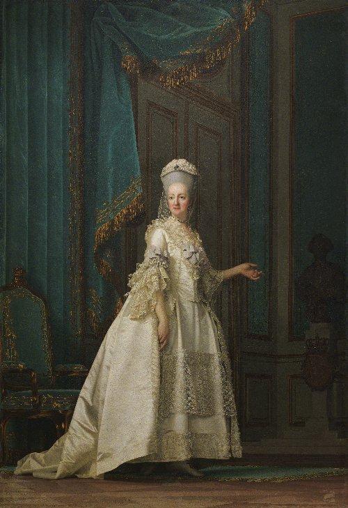 The Queen Dowager Juliane Marie | Vigilius Eriksen | oil painting