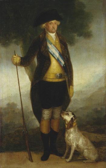 Charles IV of Spain as Huntsman