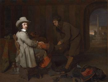 Anthonij de Bordes and His Valet