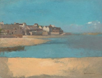 Village by the Sea in Brittany