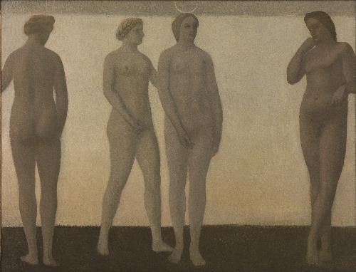 Artemis   Vilhelm Hammershoi   oil painting