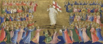 Christ Glorified in the Court of Heaven | Fra Angelico | oil painting