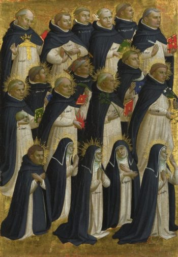 The Dominican Blessed | Fra Angelico | oil painting