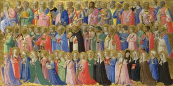 The Forerunners of Christ with Saints and Martyrs | Fra Angelico | oil painting