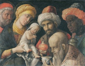 Adoration of the Magi | Andrea Mantegna | oil painting
