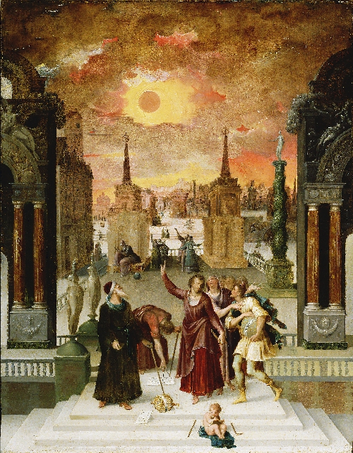 Dionysius the Areopagite Converting the Pagan Philosophers | Antoine Caron | oil painting