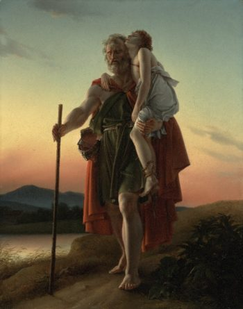 Belisarius | Baron Francois Pascal Simon Gerard | oil painting