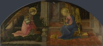 The Annunciation | Fra Filippo Lippi | oil painting