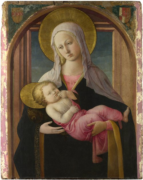 The Virgin and Child | Fra Filippo Lippi and workshop | oil painting