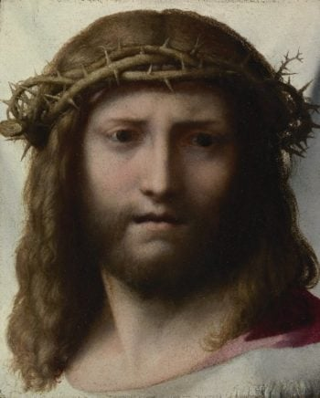 Head of Christ | Correggio | oil painting