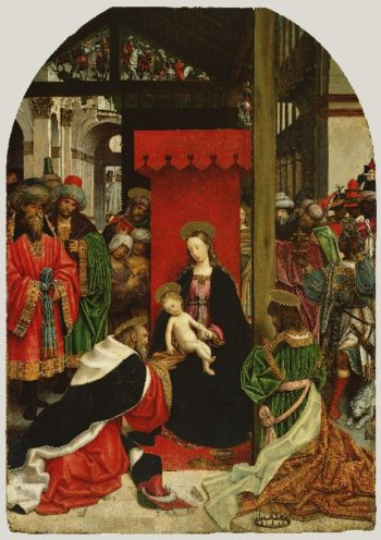 Adoration of the Magi | Defendente Ferrari | oil painting