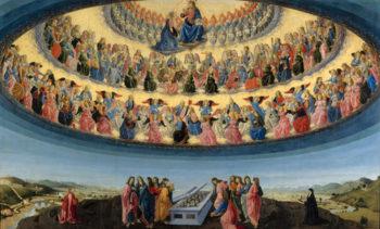 The Assumption of the Virgin | Francesco Botticini | oil painting