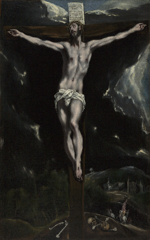 Christ on the Cross | El Greco | oil painting