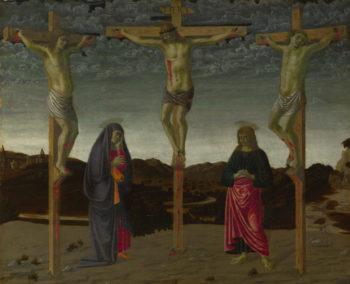 The Crucifixion | Francesco Botticini | oil painting