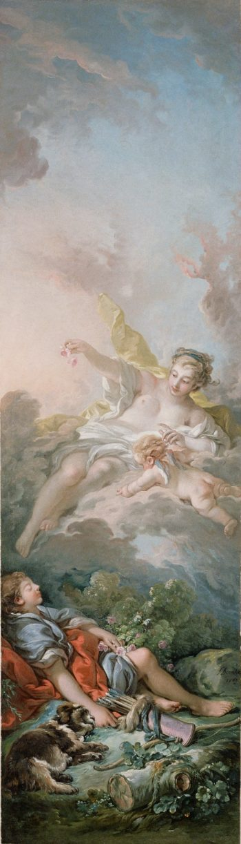 Aurora and Cephalus | Francois Boucher | oil painting