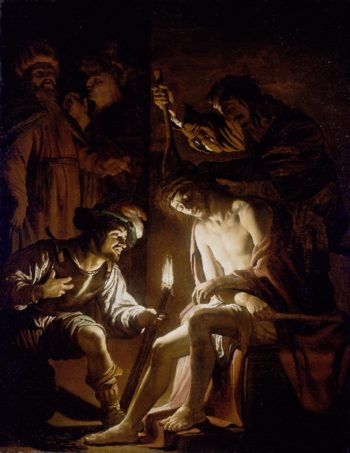 Christ Crowned with Thorns | Gerrit van Honthorst | oil painting