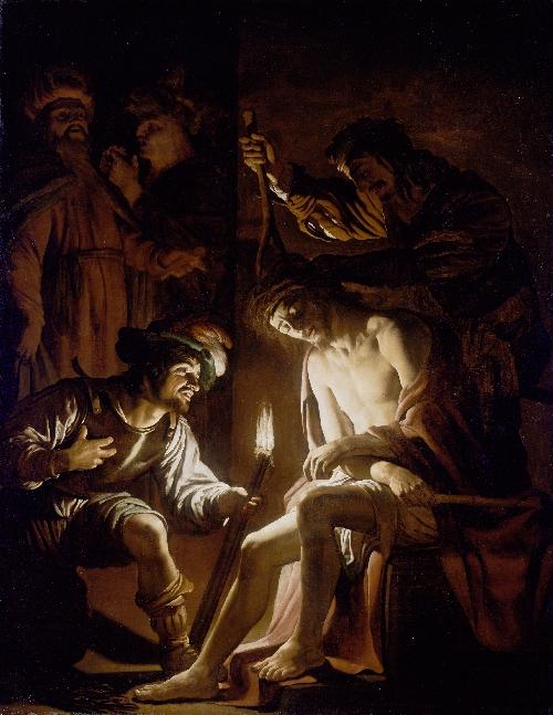 Christ Crowned with Thorns | Gerrit van Honthorst | oil painting